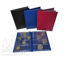 Монетник 105х150 мм на 72 монеты (комбинированный)