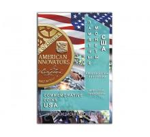 Альбом-планшет для монет США Американские инновации (блистерный)