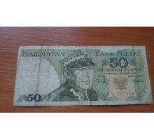 Польша 50 Злотых 1988