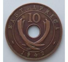 Британская Восточная Африка 10 центов 1942