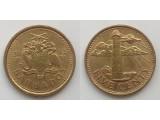 Барбадос 5 центов 2007-2019