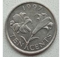 Бермуды 10 центов 1986-1998