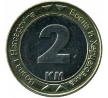 Босния и Герцеговина 2 марки 2000-2008