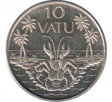 Вануату 10 вату 1983-2009