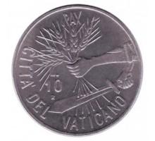 Ватикан 10 лир 1984
