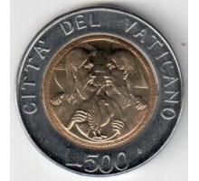 Ватикан 500 лир 1988