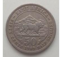 Британская Восточная Африка 50 центов 1948-1952