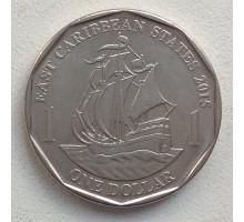 Восточные Карибы 1 доллар 2012-2017