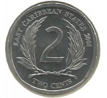Восточные Карибы 2 цента 2002-2011