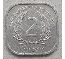 Восточные Карибы 2 цента 1981-2000