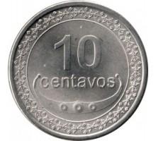 Восточный Тимор 10 сентаво 2003-2012