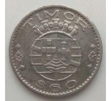 Португальский Тимор 60 сентаво 1958