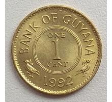 Гайана 1 цент 1967-1992