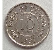 Гайана 10 центов 1967-1992