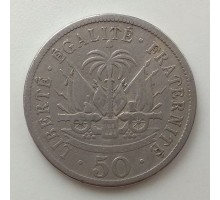 Гаити 50 сантимов 1908
