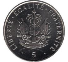 Гаити 5 сантимов 1995-1997