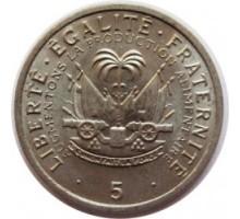Гаити 5 сантимов 1975. ФАО