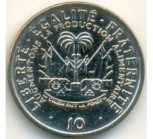 Гаити 10 сантимов 1975-1983. ФАО