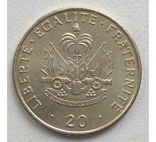 Гаити 20 сантимов 1986-1991