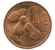 Гамбия 1 бутут 1971-1974