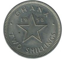 Гана 2 шиллинга 1958
