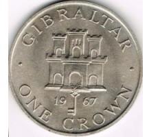 Гибралтар 1 крона 1967