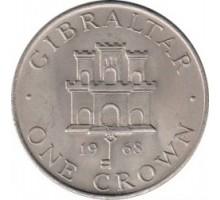 Гибралтар 1 крона 1968