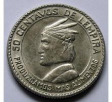 Гондурас 50 сентаво 1973