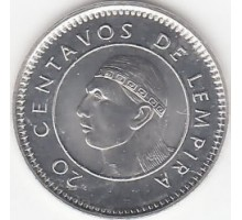 Гондурас 20 сентаво 1995-2014