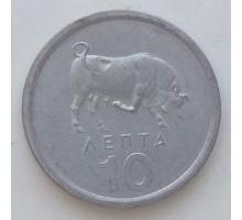 Греция 10 лепт 1976-1978
