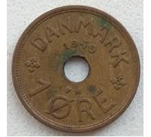 Дания 1 эре 1940