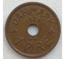 Дания 1 эре 1938