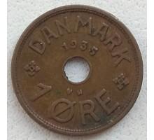 Дания 1 эре 1935
