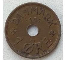 Дания 1 эре 1934