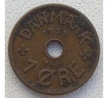 Дания 1 эре 1927