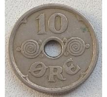 Дания 10 эре 1924
