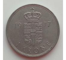 Дания 1 крона 1973-1989