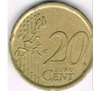 Испания 20 евроцентов 1999