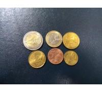 Андорра евро 2014-2015. Набор 6 монет