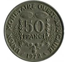 Западная Африка 50 франков 1972-2011