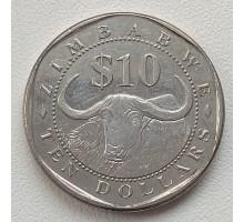 Зимбабве 10 долларов 2003