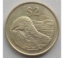 Зимбабве 2 доллара 1997