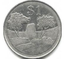 Зимбабве 1 доллар 1980-1997