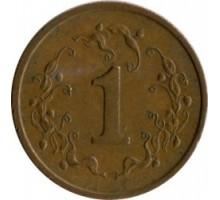 Зимбабве 1 цент 1980-1988