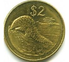 Зимбабве 2 доллара 2001-2003