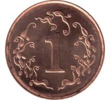Зимбабве 1 цент 1989-1999
