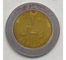 Йемен 20 риалов 2004