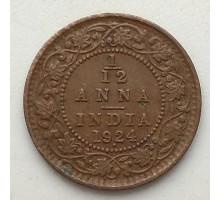 Индия (британская) 1/12 анна 1924