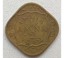 Индия (британская) 1/2 анна 1942