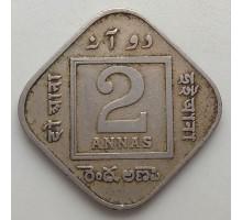 Индия (британская) 2 анны 1919